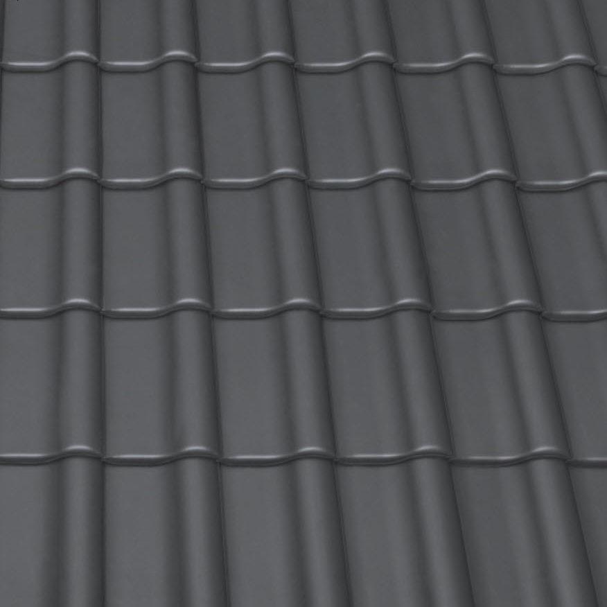 Dacheindeckung Steildach: Ziegel (Detailaufnahme)