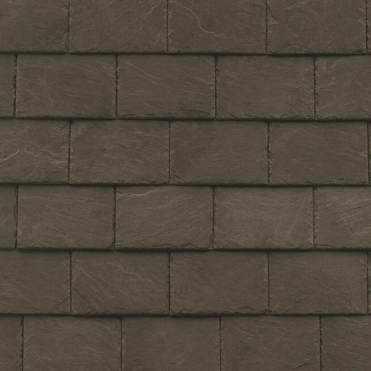 Dacheindeckung Steildach: Schiefer (Detailaufnahme)
