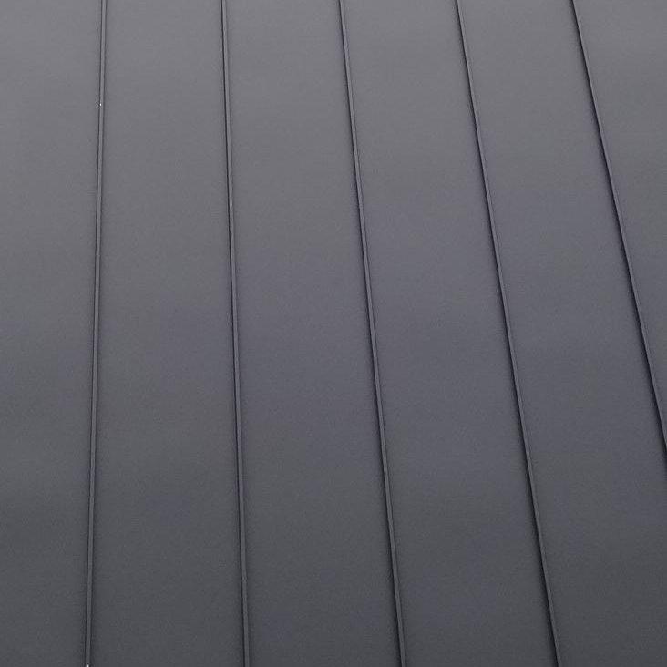 Dacheindeckung Steildach: Stehfalz (Detailaufnahme)