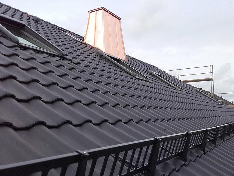 Dacheindeckung Steildach: Ziegel (Anwendungsbeispiel)